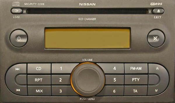 Nissan Blaupunkt code
