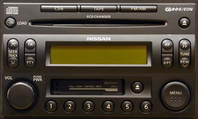 Nissan Clarion RDS code