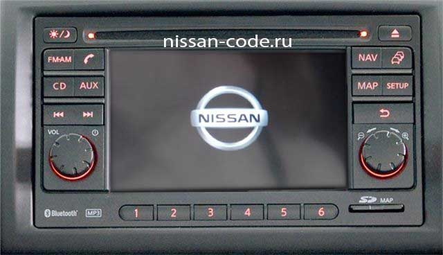 Nissan Connect code